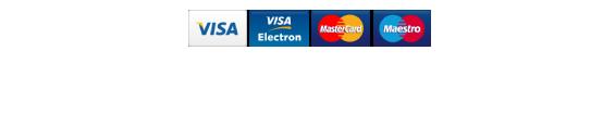 akceptované kreditné karty